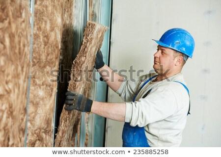 Adam duvar yalıtım ev Bina Stok fotoğraf © photography33