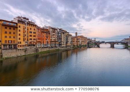 Floransa · saray · şehir · dünya · sanat · seyahat - stok fotoğraf © wjarek
