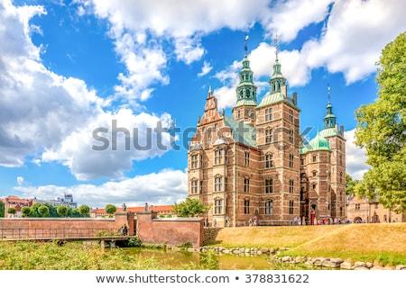 Копенгаген Дания замечательный средневековых архитектура синий Сток-фото © Estea