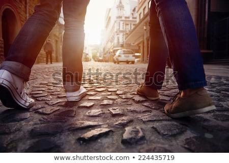 表示 · 屋根 · パリ · フランス · 通り · 歴史的 - ストックフォト © ldambies