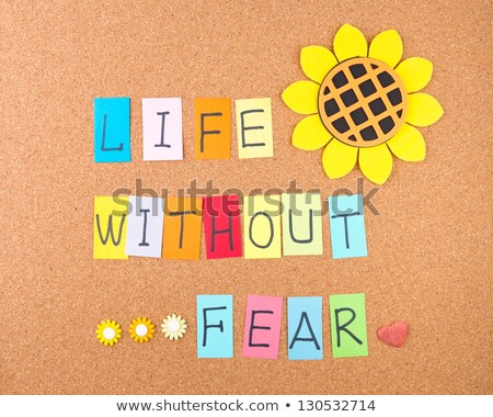 Life without fear Stock photo © Ansonstock