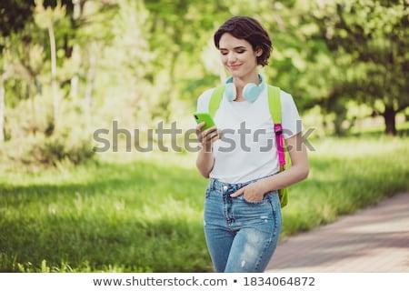 Student going to class Stock photo © tangducminh