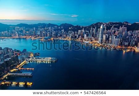 Hong Kong quayside Stock photo © joyr