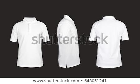 blank polo t-shirt isolated on white background. Stock photo © ozaiachin
