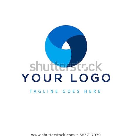 Soyut modern logo şablon ikon şirket Stok fotoğraf © vitek38