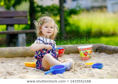 baby in sandbox Stock photo © Paha_L
