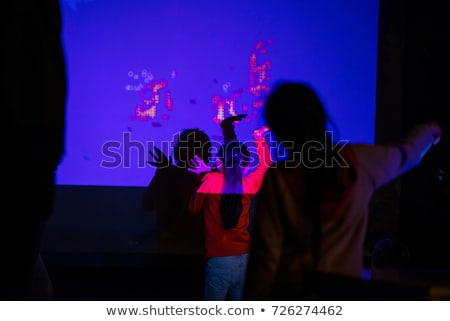 Etapa luces tv prueba patrón pantalla Foto stock © searagen