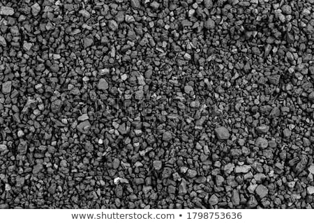 Black gravel Stock photo © claudiodivizia