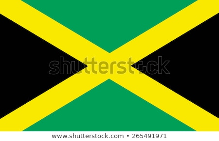 Vlag Jamaica groot maat illustratie land Stockfoto © tony4urban