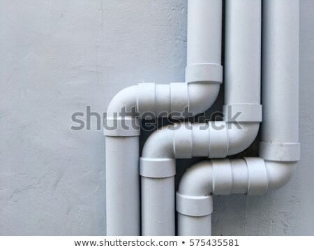 Drenar tubo velho cobre Foto stock © njnightsky
