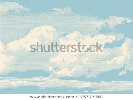 Retro Clouds Stock photo © hitdelight