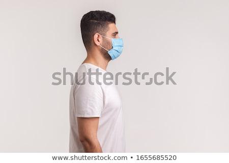 Görmek adam genç gömlek Stok fotoğraf © zzve
