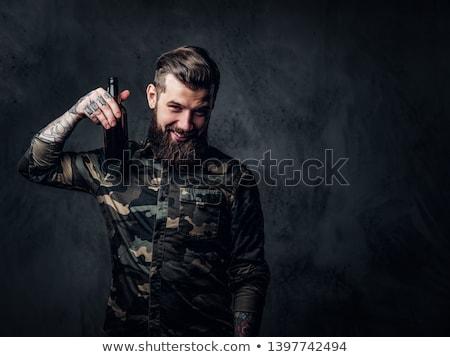 bomba · guerra · ameaça · estoque · perigoso - foto stock © lightsource