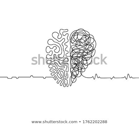 emoción · lógica · manera · elección · estrategia - foto stock © stevanovicigor