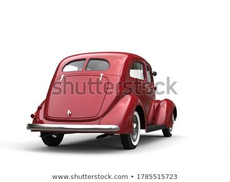 öreg időzítő autók illusztráció utazás sebesség Stock fotó © Slobelix