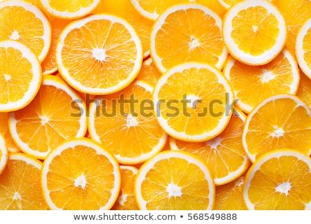 Frischen orange Früchte weiß Essen Obst Essen Stock foto © dezign56