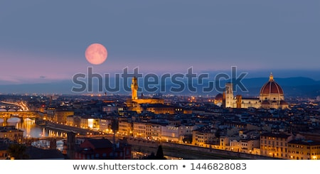 Ponte Vecchio and river Arno in Florence Stock photo © eddygaleotti