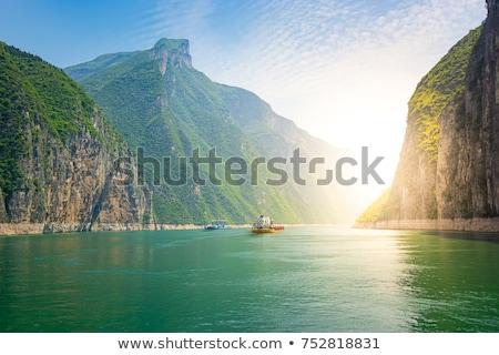 fiume · fondo · view · rocce · acqua - foto d'archivio © oleksandro