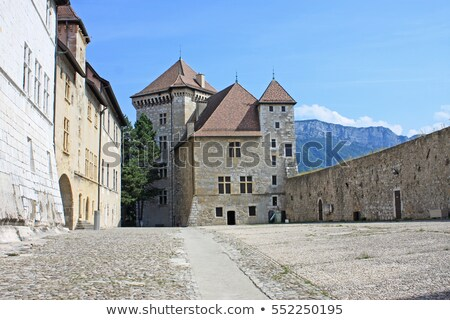 annecy castle france stock photo © elenarts