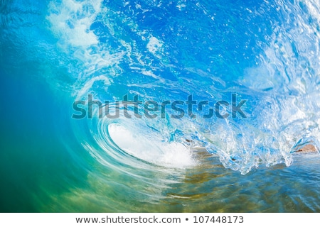 Wave Inside Crashing Stock photo © ChrisVanLennepPhoto