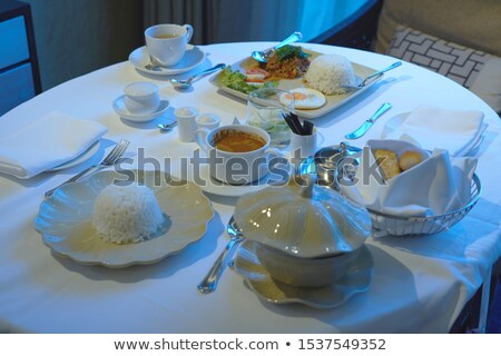 vegetable sup. morning meal Stock photo © fanfo