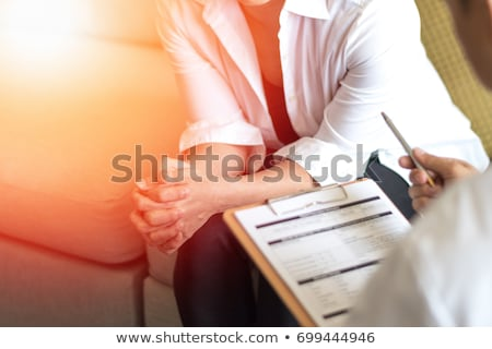 cyst diagnosis medical concept stock photo © tashatuvango