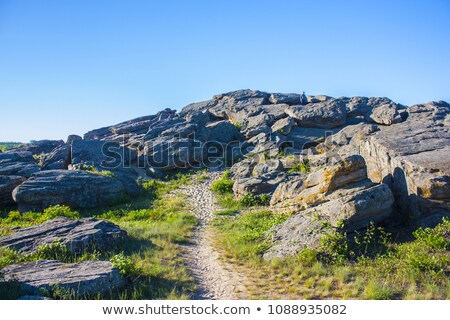 Stone Grave, Ukraine Stock photo © artfotoss