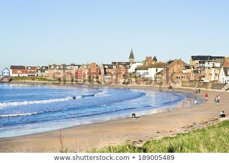 The beach in North Berwick, Scotland Stock photo © Julietphotography