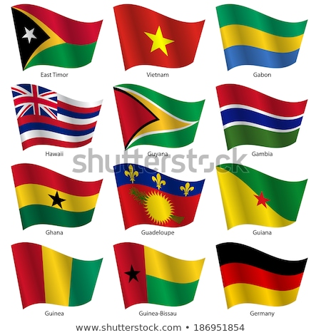 germany and guadeloupe flags stock photo © istanbul2009