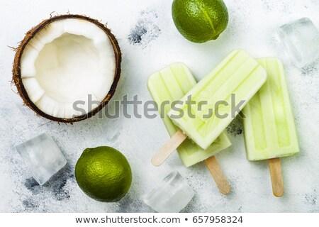 заморожены · домашний · семян · малина · продовольствие · плодов - Сток-фото © barbaraneveu