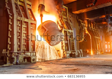 steel industry Stock photo © tracer