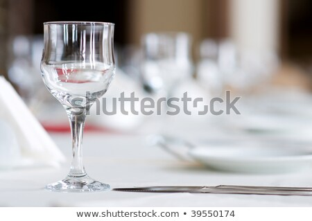 wine glasses with shallow depth of field Stock photo © Phantom1311
