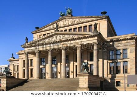 Konser salon bir güzel Bina şehir Stok fotoğraf © elxeneize
