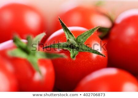Tomaten grünen Detail voll rot Stock foto © photohome