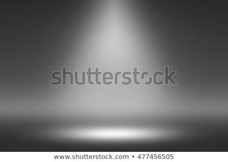produktu · Spotlight · czarny · ciemne · pokój · fotograf - zdjęcia stock © Loud-Mango