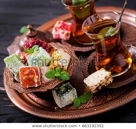 Görög török öröm finom édes Stock fotó © Digifoodstock