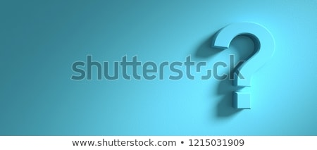 Think big blue text sign concept illustration Stock photo © alexmillos