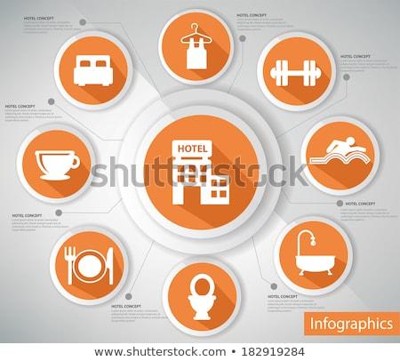 セット 情報をもっと見る グラフィックス 要素 フィットネス 3D ストックフォト © kup1984