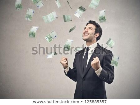 boy grabbing money Stock photo © IS2