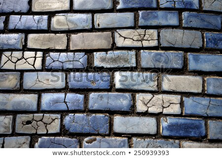 trottoir · stenen · textuur · weg · bouw · baksteen - stockfoto © arenacreative