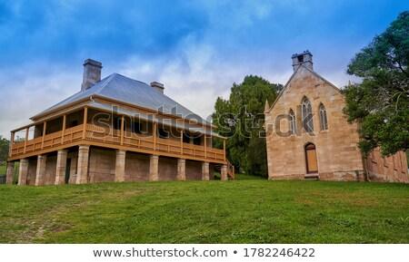 Presbytery in Hartley, Australia Stock photo © smartin69