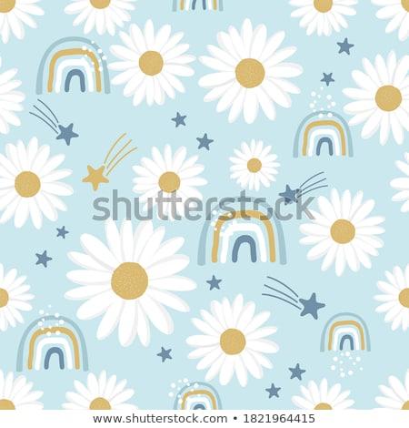 cute stars pattern for kids Stock photo © SArts