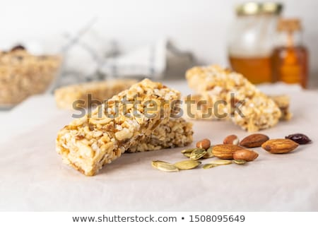 Energy bar mixture Stock photo © boggy