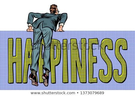 İngilizce · kelime · hazinesi · memnun · örnek · mutlu · arka · plan - stok fotoğraf © studiostoks