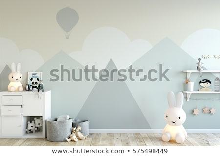 Interior of baby room pattern Stock photo © netkov1