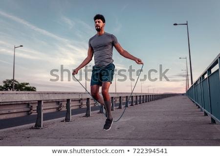 difícil · exercer · esportes · ginástica · cara - foto stock © pressmaster