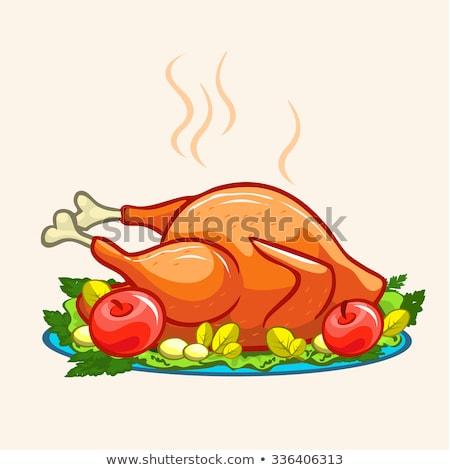 pollame · bianco · carne · design · ristorante · bar - foto d'archivio © robuart