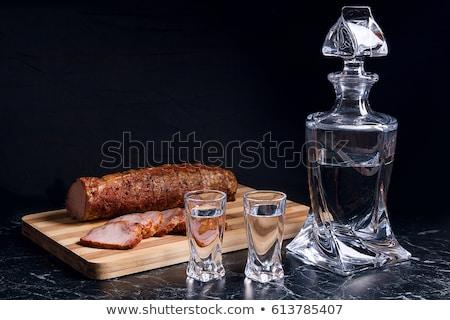 очки русский пить водка традиционный Сток-фото © furmanphoto