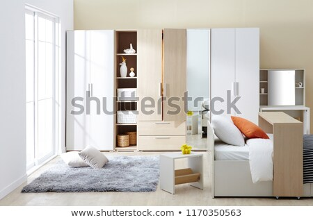 Empty wardrobe in the room Stock photo © magraphics
