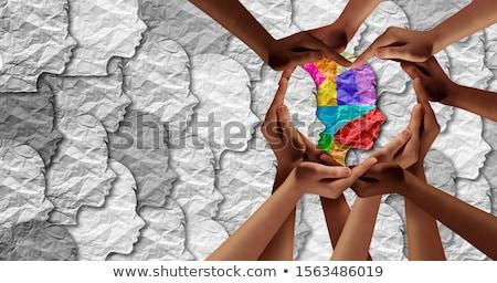 autista · diagnózis · autizmus · gyermek · zűrzavar · neurológia - stock fotó © lightsource